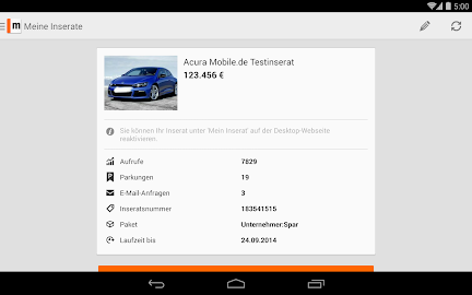 mobile.de – vehicle market Screenshot 40