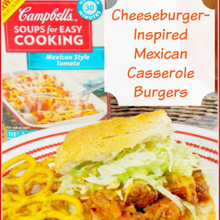 Cheeseburger-Inspired Mexican Casserole Burgers