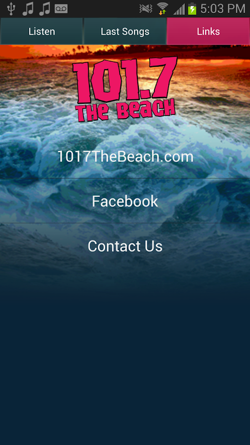 The Beach Today's Hit Music- screenshot