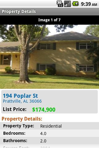 USHUD.com Property Search - screenshot