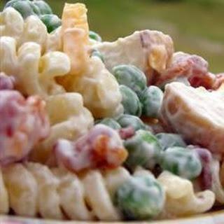 Basic Chicken Pasta Salad.