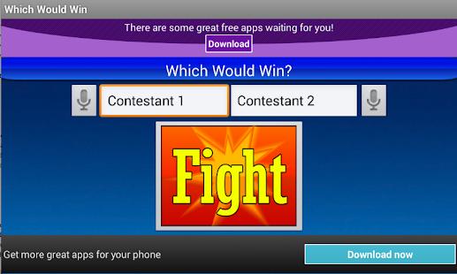 Which Would Win - screenshot thumbnail