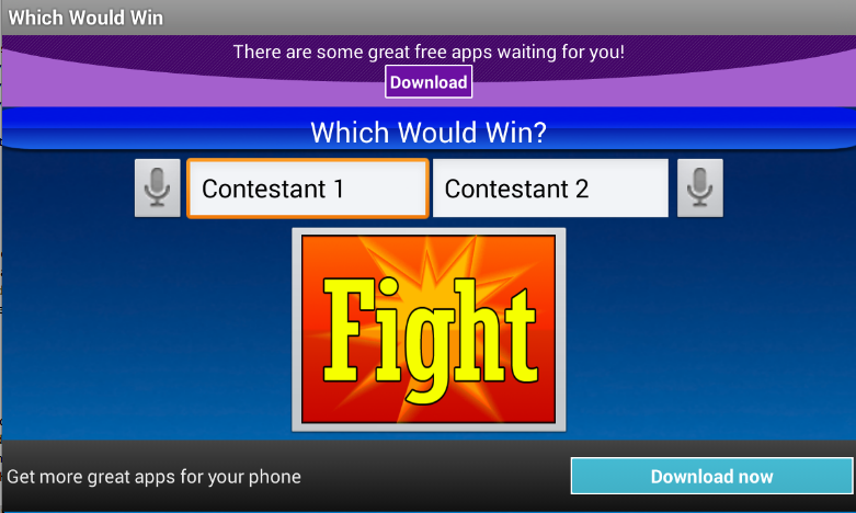 Which Would Win- screenshot