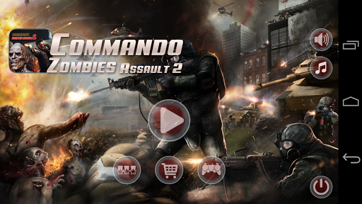 玩動作App|Commando Zombie Assault 2免費|APP試玩