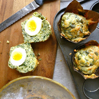 Spinach And Egg Breakfast Muffins
