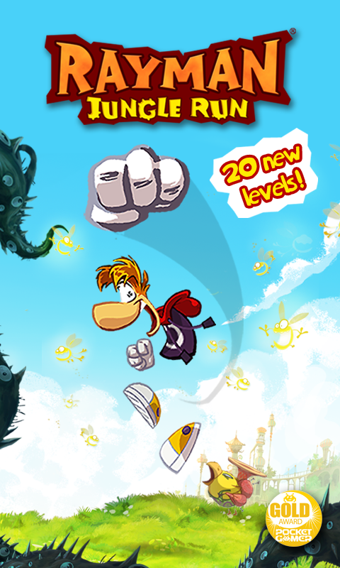 Rayman Jungle Run – zrzut ekranu
