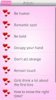 Screenshot of Kissing Tips