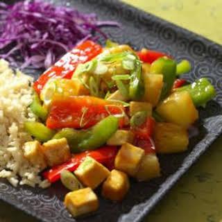 Sweet & Sour Tofu.