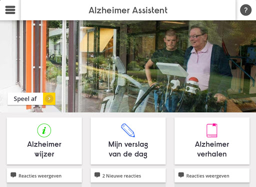 Alzheimer Assistent tablet