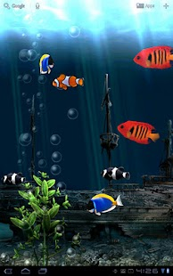 Aquarium Free Live Wallpaper - screenshot thumbnail