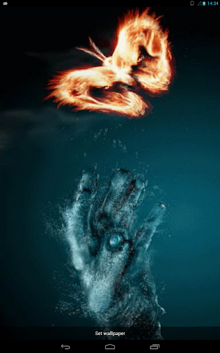 Water Arm and Fiery Butterfly