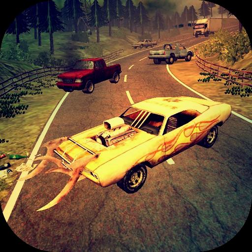 Deadland's Road. 3D Zombie FPS LOGO-APP點子