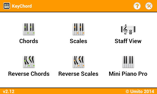 KeyChord - Piano Chords Scales