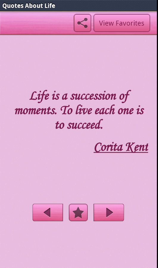 "Life ""Quotes"" - screenshot"