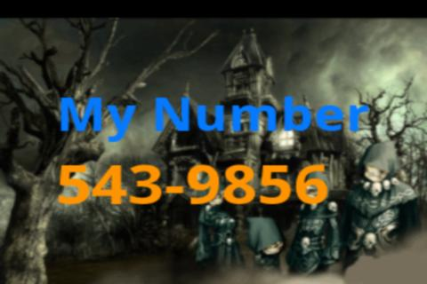My Halloween Number Free - screenshot