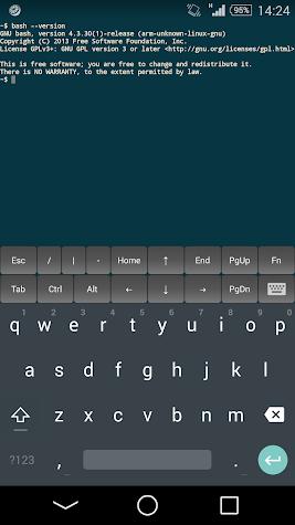 JuiceSSH - SSH Client Screenshot