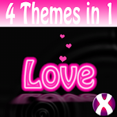 Neon Heart Complete 4 Themes
