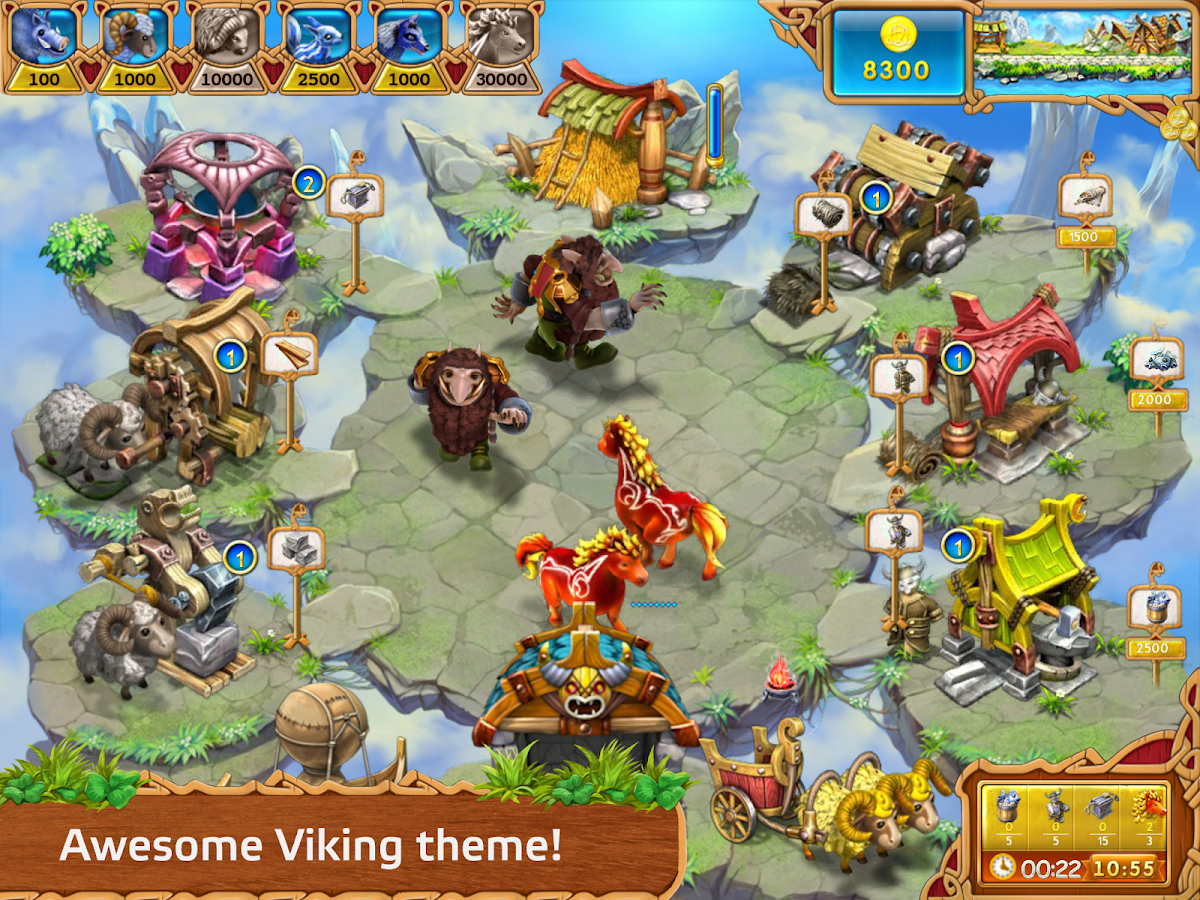 Farm Frenzy: Viking Heroes- screenshot
