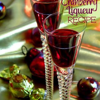 Chloe's Homemade Cranberry Liqueur