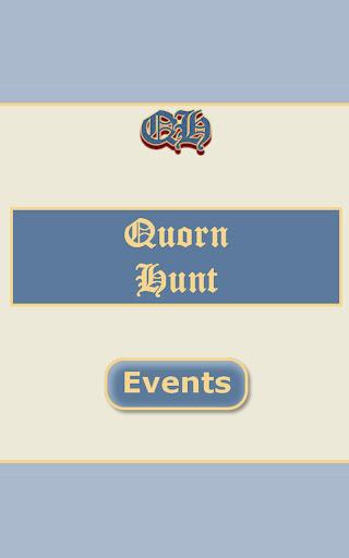 Quorn Hunt