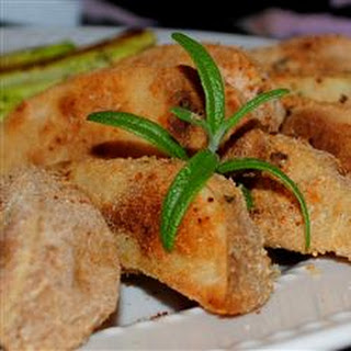 Rosemary Baked Potato Wedges