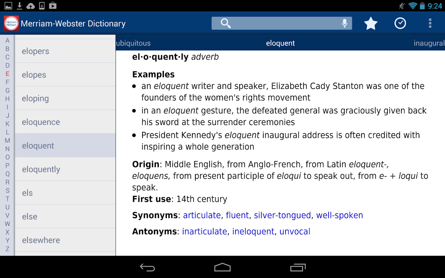 Dictionary - Merriam-Webster- screenshot