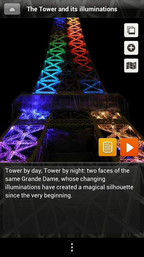 Tour Eiffel, Official Guide- screenshot
