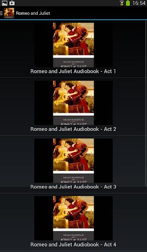 Romeo and Juliet - Audio Book