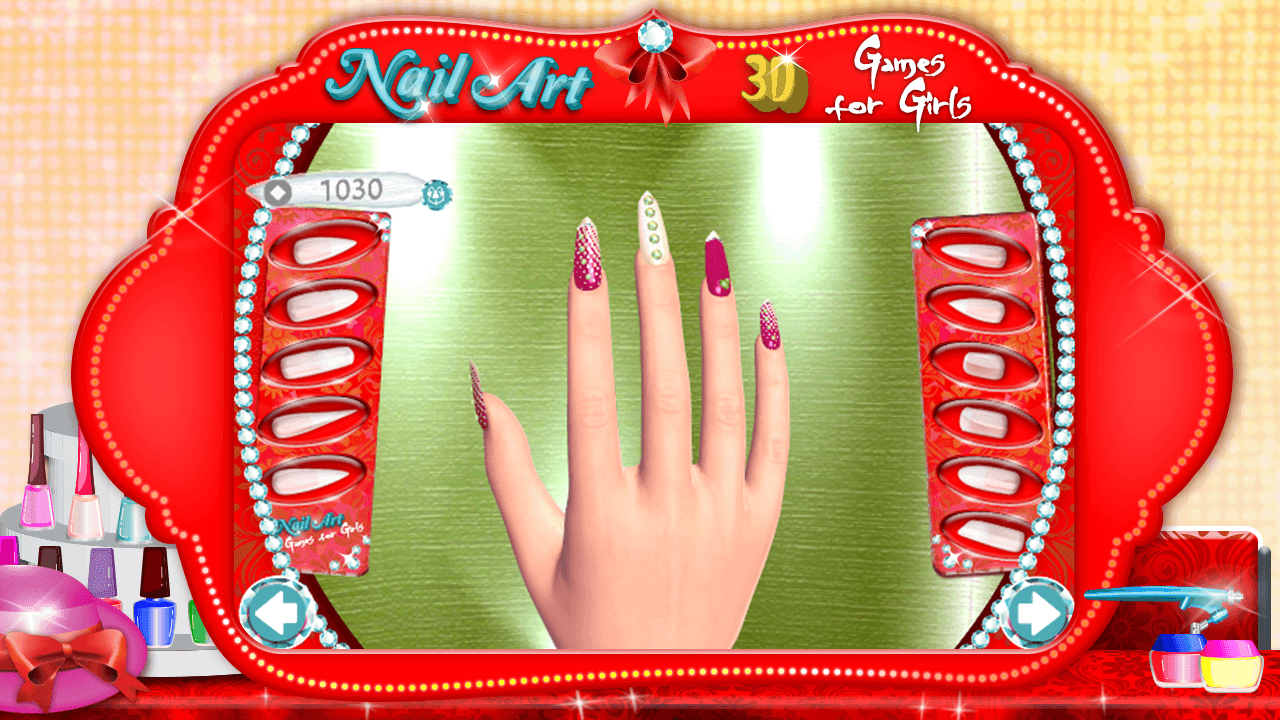 3d nail art games for girls android apps on google play 3d nail art games for girls screenshot prinsesfo Images