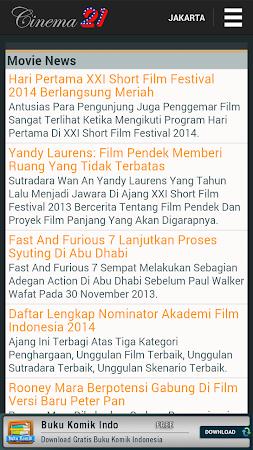 Jadwal Cinema 21 4.0.1 screenshot 240063