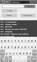Screenshot of Magyar Rádió Hangtár - AIR