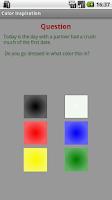 Screenshot of Color inspiration