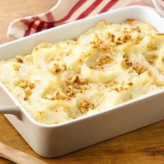 Do-Ahead Mashed Potatoes.