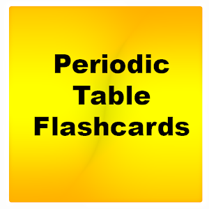 Periodic table flashcards android apps on google play periodic table flashcards urtaz Choice Image