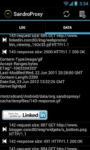 SandroProxy - screenshot thumbnail