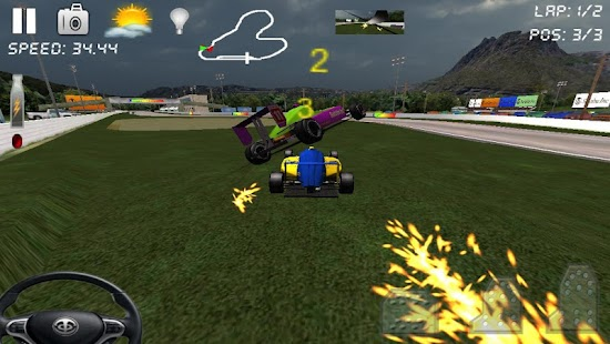Race Rally 3D Go Xtreme Racing - screenshot thumbnail