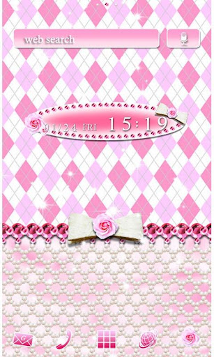Cute Wallpaper Pink Argyle 1.0 Windows u7528 1