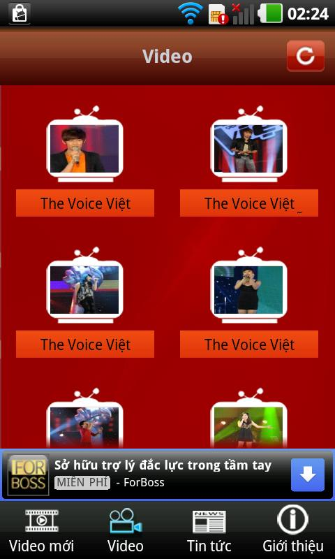 The Voice Việt Nam 2012 - screenshot