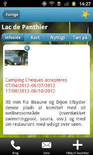 Camping Cheque guiden- screenshot thumbnail