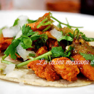 Pastor-style Tacos.