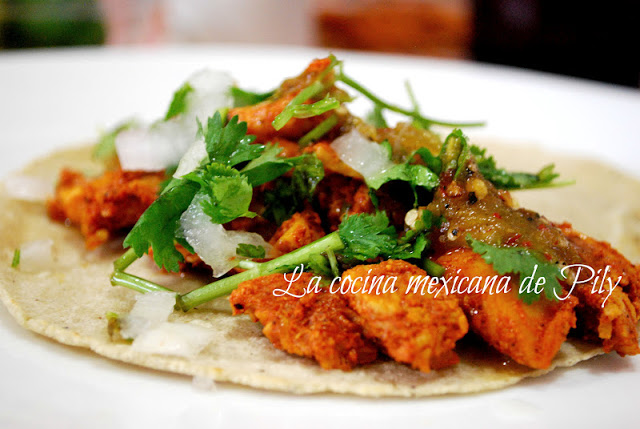 Pastor-style Tacos
