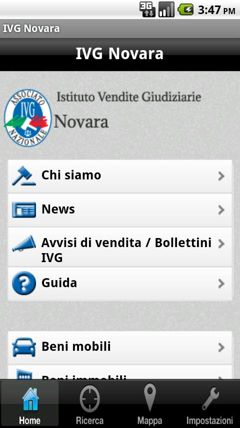 IVG Novara - screenshot
