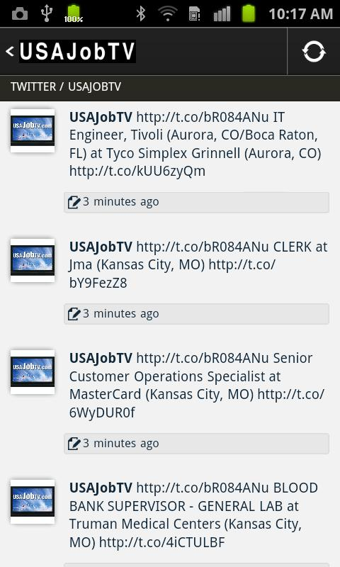 USAJOBTV- screenshot