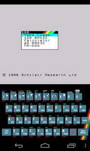 USP - ZX Spectrum Emulator - screenshot thumbnail