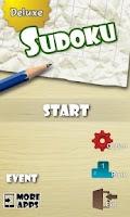 Screenshot of Sudoku Puzzle Deluxe
