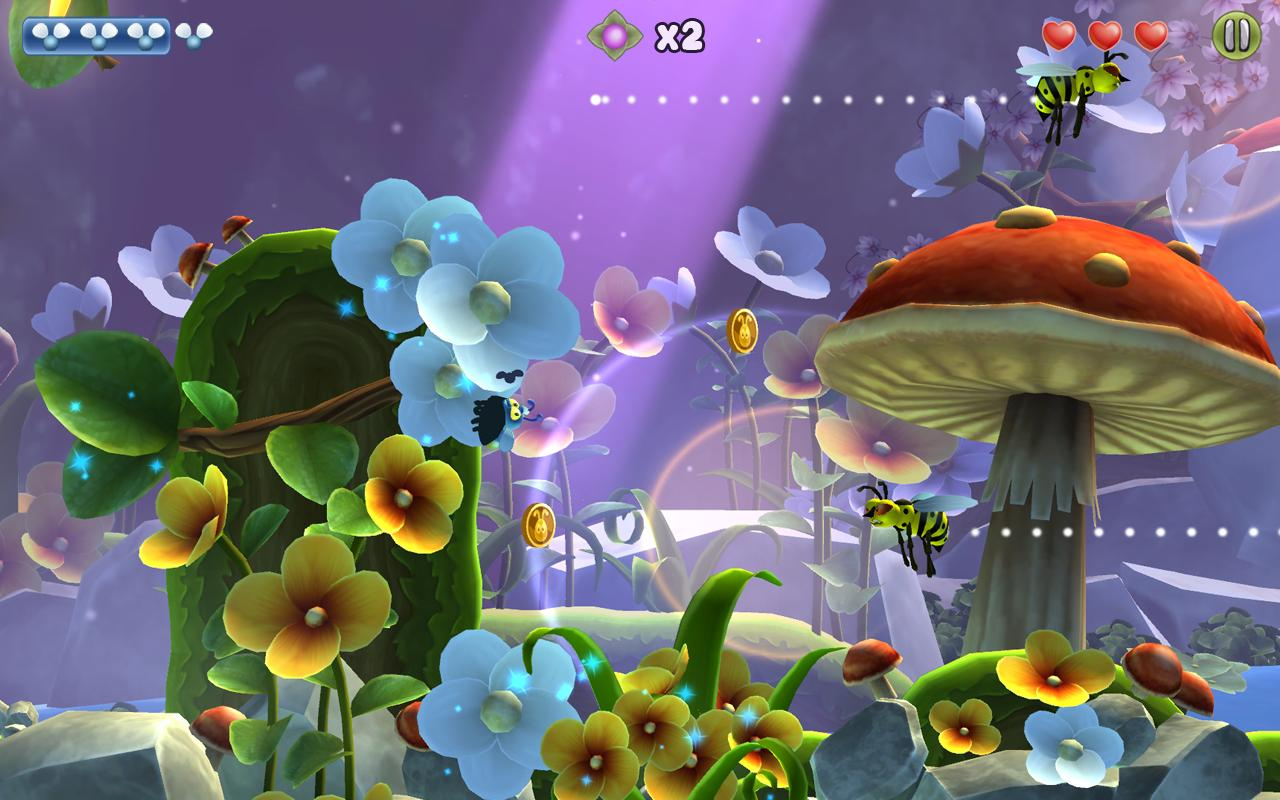 Shiny The Firefly FREE - screenshot