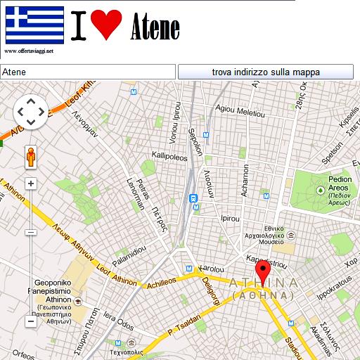 Atene maps