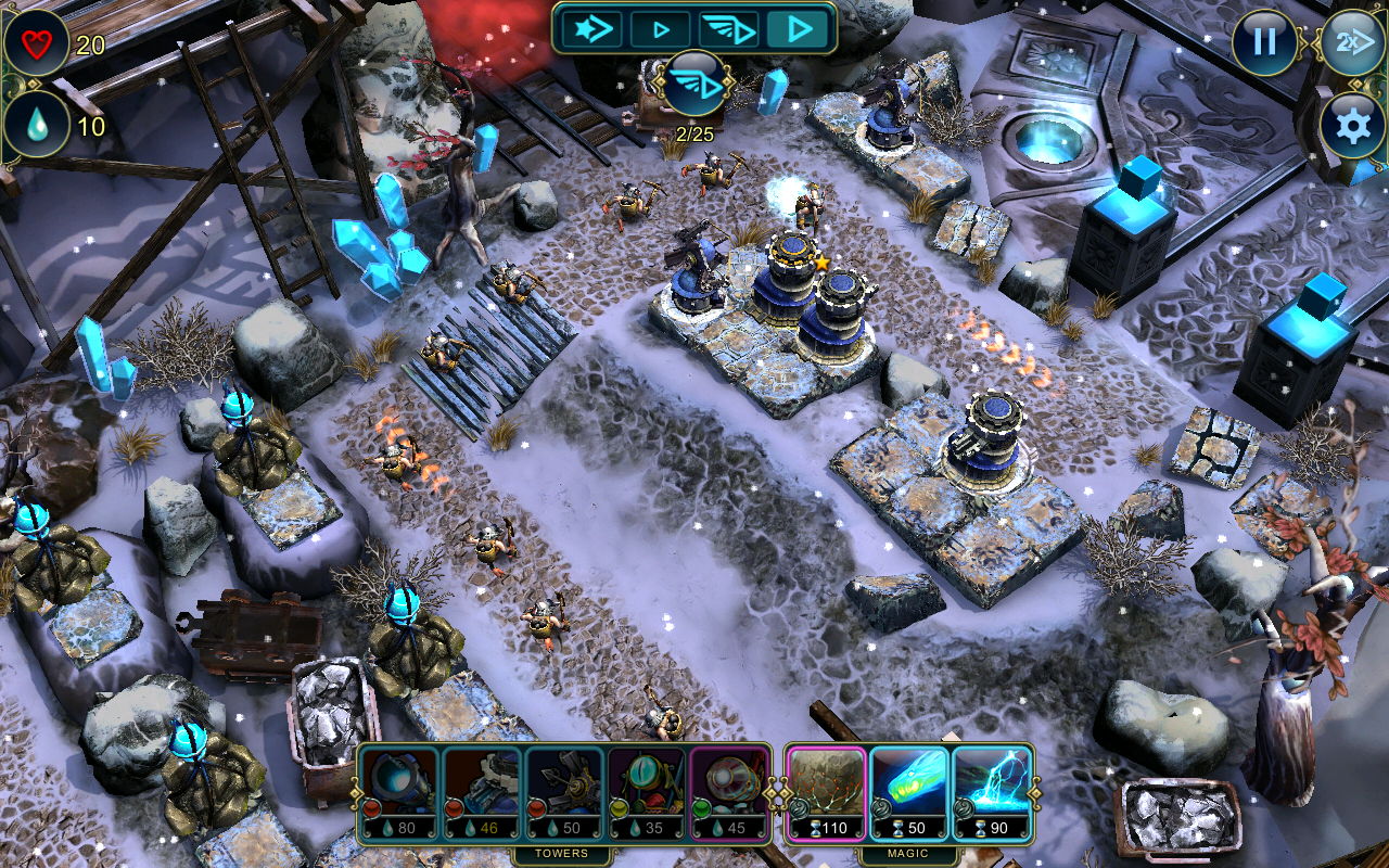 Defenders: TD Origins screenshot #6