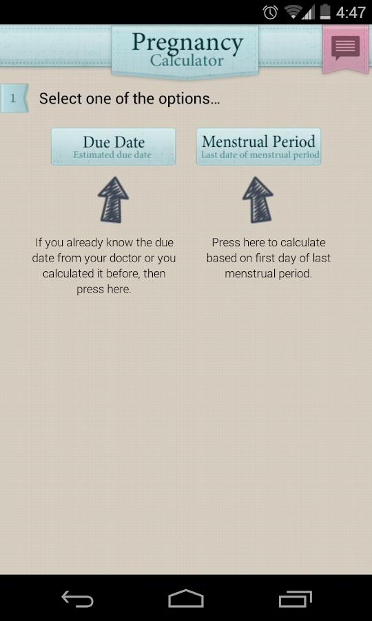 Pregnancy Calculator - screenshot