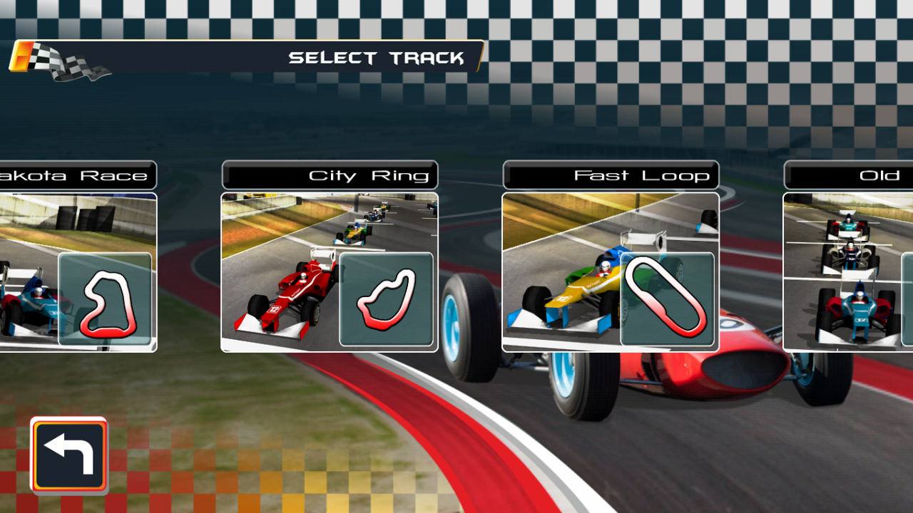 Legendary Racing- screenshot